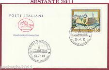 ITALIA FDC CAVALLINO PROPAGANDA TURISTICA ALGHERO 1983 ANNULLO TORINO T313
