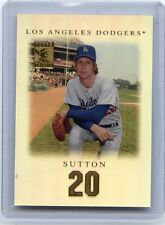 2001 TOPPS TRIBUTE #5 DON SUTTON REFRACTOR, LOS ANGELES DODGERS, HOF, 081114