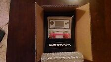 Nintendo Game Boy micro Black w/ 3 faceplates