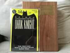 BATMAN: LEGENDS OF THE DARK NIGHT #1 SIGNED BY CREATOR OF BATMAN BOB KANE