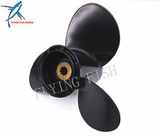 9 1/4x9 Outboard Motor Aluminum Alloy Propeller for Suzuki 9.9HP 15HP 9 1/4 x 9