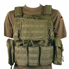 Bulle Tan MOLLE Webbing Armour Carrier With Pouches, Adjustable One Size