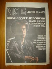 NME 1987 APR 25 DEACON BLUE RICKY ROSS CND HUSKER DU