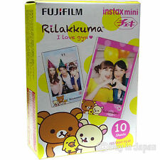 Fuji Instax Mini 8 Film Rilakkuma Fujifilm Mini 7/50s Mini 90/25/7s SP-1 Printer