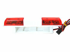 RC Police Emergency Red Light LED Strobe Squared Bar for 1/10 Scale