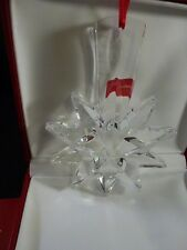 Baccarat 2013 Annual Crystal Noel Ornament-Christmas Star