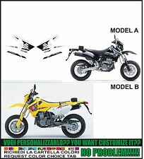 kit adesivi stickers compatibili drz 400 sm