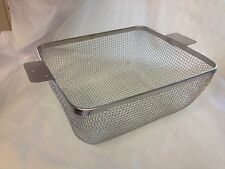 New Ultrasonic Stainless Steel Wire Cleaning Basket for 3-1/2 Gallon Tank(UB312)
