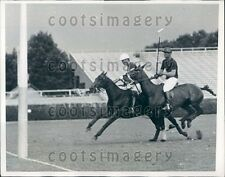 1937 Polo Game Westbury NY Ivor Balding Meadowbrook Cup Press Photo