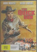 THE QUICK GUN AUDIE MURPHY  NEW ALL REGION DVD