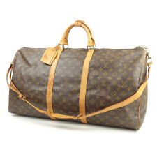 Authentic Louis Vuitton Monogram Keep All Bandouliere 60 HandBag M41412 Used F/S