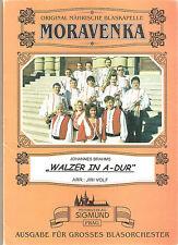 Blasmusiknoten Walzer in A-Dur