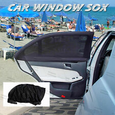 2PCS Window SOX Sun Shade Socks For TOYOTA 4 RUNNER KLUGER LANDCRUISER PRADO