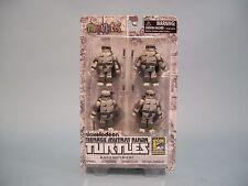 MiniMates Teenage Mutant Ninja Turtles Black & White Comic Con Exclusive Set