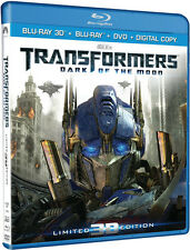 Transformers: Dark of the Moon [Ultimate Edition] [Blu-ray/DVD] [3D]  Blu-ray 3D