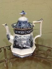 Antique Mulberry tea pot