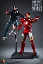 Hot Toys 1/6 Figure Two-Sided Dynamic Stand For Mark XLII Iron Man Tony Stark