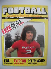 Football Monthly Magazine December 1977 Vol 4 No 5 Kevin Keegan Giant Poster inc