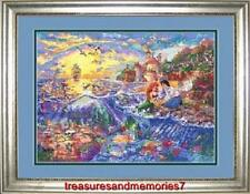 Disney Dreams Collection THE LITTLE MERMAID Thomas Kinkade Counted Cross Stitch