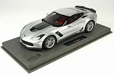 BBR 2015 Corvette C7 Z06 Silver Shark 1:18 P1893B 1:18 LE 100pc *New Item!