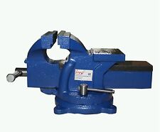 FoxHunter Bench Vice Vise 5 Inch 125mm Jaw Clamp Swivel Base for Workbench Table
