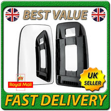 Left Passenger Near Side Convex Wing Mirror Glass for MERCEDES SPRINTER 2006 on