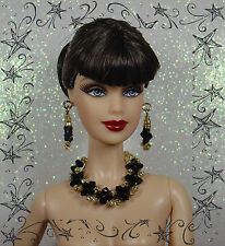 FASHION ROYALTY BARBIE SILKSTONE BIJOUX NECKLACE JEWERLY SWAROVSKI