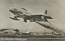 Postcard 1112 - Aircraft/Aviation Real Photo Lockheed F-80 Shooting Star
