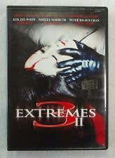 3 Extremes II (DVD, 2006, Canadian) Asian Horror HTF