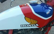 HONDA FUEL TANK WINGS CR MT XL XLR MR  XR SL decal stickers 125 250 Vintage