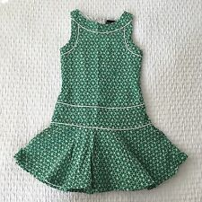 Laundry by Shelli Segal Boutique Girls Dress Twirly Green Eyelet Size 7 EUC!!