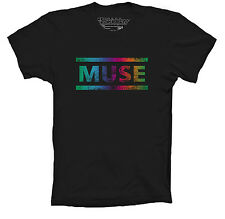 MUSE T-SHIRT INSPIRED THE 2ND LAW DISTRESSED LOGO MATT BELLAMY UNISEX COLOURS