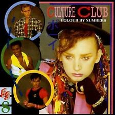 Culture Club COLOUR BY NUMBERS cd West Germany BLUE FACE 1st.Press (NON-swirl)