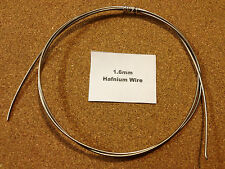 Hafnium Wire 1.6mm x 15cm 16 SWG Exotic Jewellery 99.9% Pure (ex-Zr)