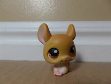 LITTLEST PET SHOP LPS #340 BROWN CHINCHILLA BROWN EYES
