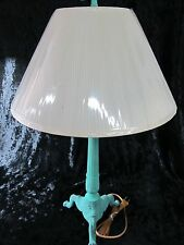 Vantage Classic Metal Green Base Indoor Table Lamp