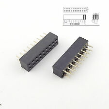 10pcs Pitch 2mm 2x9 Pin 18 Pin Female Double Row Straight Pin Header Strip 2.0mm