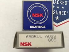 NSK BEARING - PART# 6905VV - 1 PC.  NEW