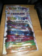 REXLACE Lanyard Tie Dye Holographic Neon Glitter Sparkle, Snaps, Ideas Booklet