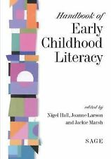 Handbook of Early Childhood Literacy by