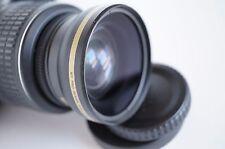 Wide Angle Macro Close Up Semi Fisheye Lens for Nikon D7100 D7000 D3300 D40 New