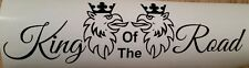 """Scania Hgv Lorry  Side Window Decal Sticker Griffin King Of The Road 14"""" by 4"""""""