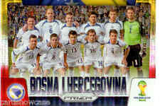 2014 World Cup Prizm Yellow Red Country Team Shot No.5 BOSNA I HERCEGOVINA