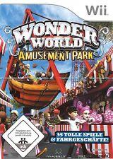 Wonder World Wonderworld Amusement Park für Wii Neu/Ovp