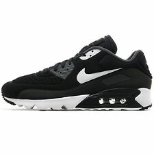Mens Nike Air Max 90 Ultra SE Trainers Black White Grey 845039-001 Size UK 9