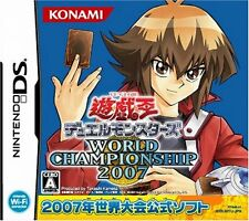 Used Nintendo DS Yu-Gi-Oh Duel Monsters World Championship 2007 (Free Shipping)