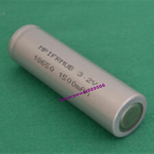 1X 3.2V LiFePO4 IFR Li-ion 18650 battery flat top high temperature energy type
