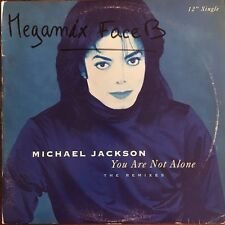 """Michael Jackson - You Are Not Alone - The Remixes - Vinyl  12"""" Single"""
