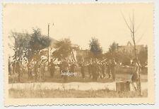 Foto Polen beim Dorf  Biala 1941 Musiker/Soldaten   2.WK (B30)