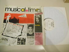 LP VA EMI Musical Times 2/81 (10 Song) Promo EMI ELECTROLA Iron Maiden Strangler